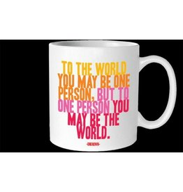 Quotable To The World Mug