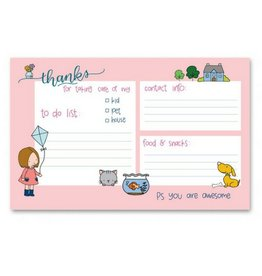 Colette Paperie Taking Care Notepad