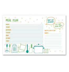 Colette Paperie Meal Plan Notepad