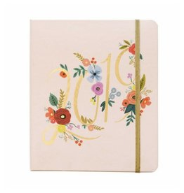 Rifle Paper 2019 Bouquet Covered Spiral Planner