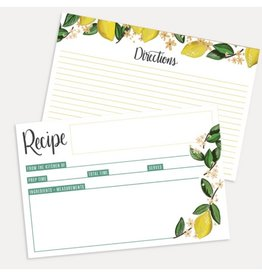Lily & Val Lemon Recipe Cards