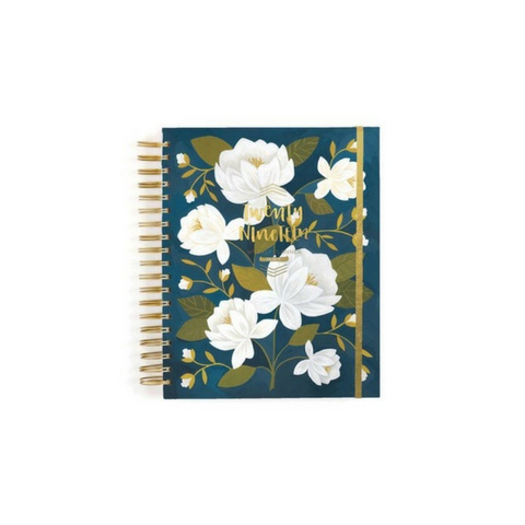 1Canoe2 2019 Raleigh Floral Planner, 17-Mo.