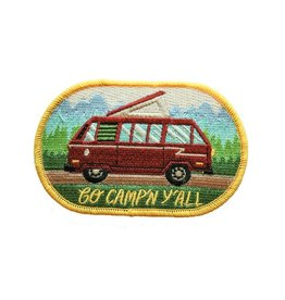 Forest and Waves Go Campin' Patch