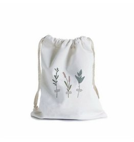 In the Daylight Botanic Stems Canvas Gift Bag