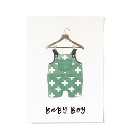 In the Daylight Baby Boy Print
