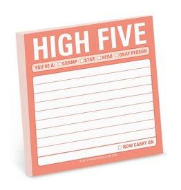Knock Knock Sticky Note: High Five
