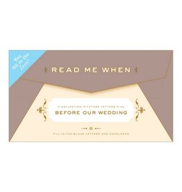 Knock Knock Read Me When: Wedding