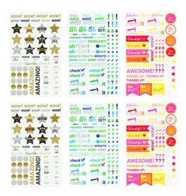 Blot Affirmation Stickers