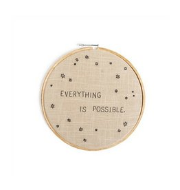 SugarBoo Designs Everything is Possible Embroidery
