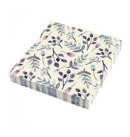 Graphique Purple Floral Napkins