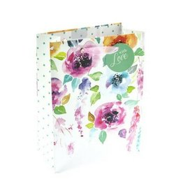 Graphique Hanging Flowers Gift Bag, Sm