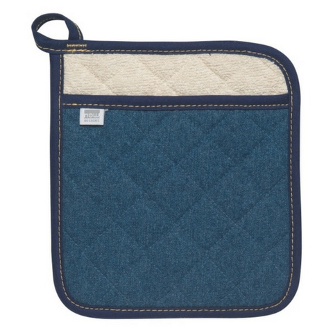 Now Designs Denim Stone Wash Potholder