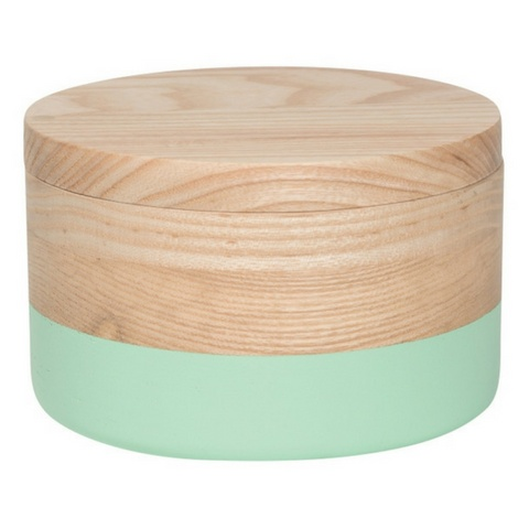 Now Designs Curio Box Dipped Mint, Lg