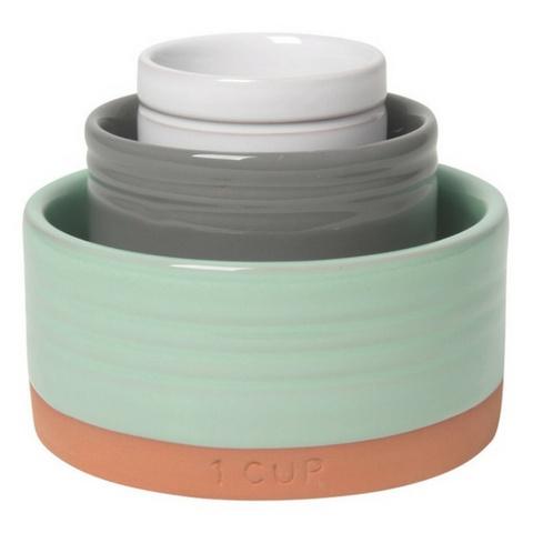 Now Designs Nesting Prep Bowls, Terracotta Sky