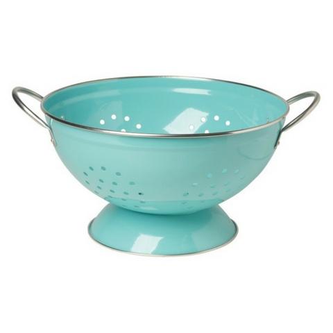 Now Designs Colander, Turquoise - 3 Qt.