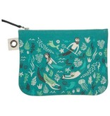 Now Designs Sea Spell Zip Pouch, Lg