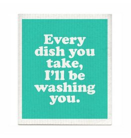 Boldfaced Every Dish Dishcloth