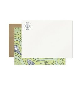 Page Stationery Compass Note Set