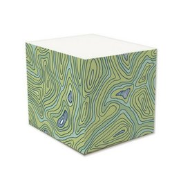 Page Stationery Topographic Note Cube