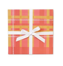 Page Stationery Blanket Plaid Gift Wrap