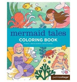 Petit Collage Mermaid Tales Coloring Book