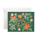 Rifle Paper Wintergreen Christmas Card
