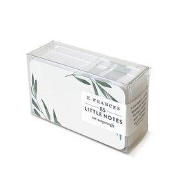 E. Frances Little Notes: Olive Branches