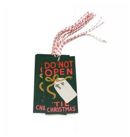 Rifle Paper Do Not Open Until Christmas Gift Tags