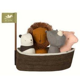Maileg Noah's Ark w/ 4 Rattles