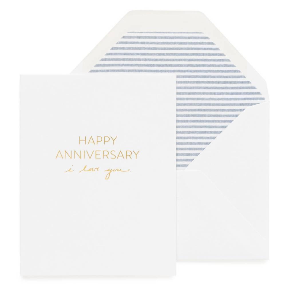 Sugar Paper Anniversary, I Love You