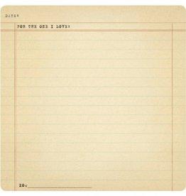 SugarBoo Designs XO Notepad