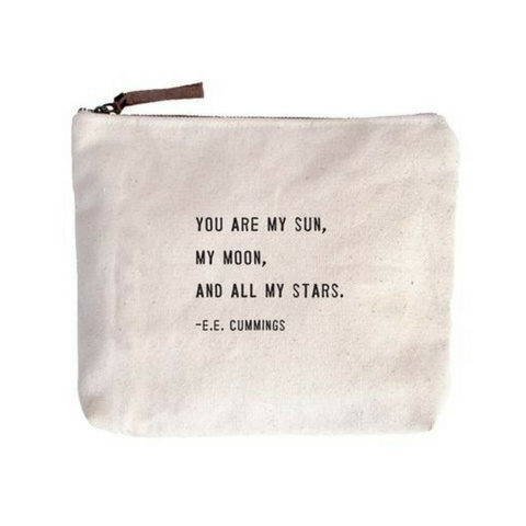 SugarBoo Designs Canvas Bag: You Are My Sun