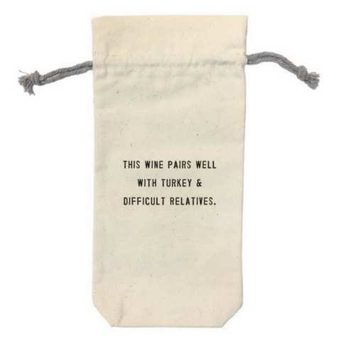 SugarBoo Designs Wine Bag: This Pairs Well
