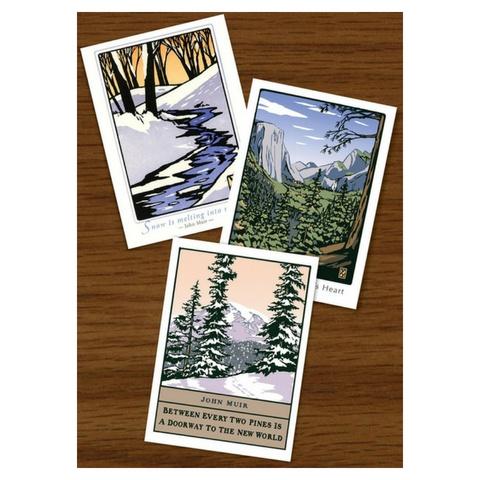 Gibbs Smith John Muir Assorted Notecards