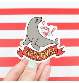 Turtle's soup Seal of Approval Sticker