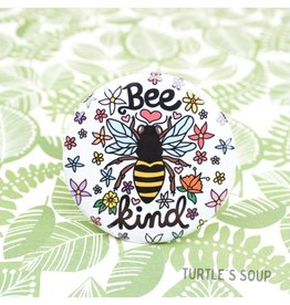 Turtle's soup Bee Kind Pin