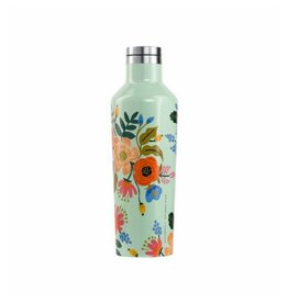 Rifle Paper Lively Floral Mint Canteen