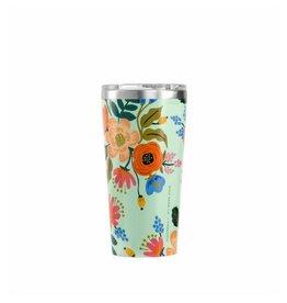 Rifle Paper Lively Floral Mint Tumbler