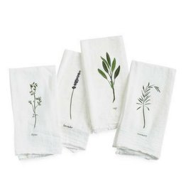 June & December Garden Herbs Napkins