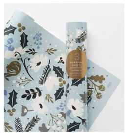 Rifle Paper Holiday Sun Print Wrap, Roll