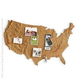 Design Ideas USA Cork Message Board