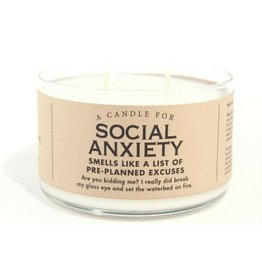 Whiskey River Soap Social Anxiety Candle