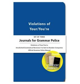 Whiskey River Soap Journal for Grammar Police