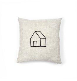 Gray Green Goods Home Linen Pillow