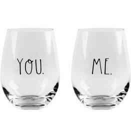 Home Essentials You & Me Glasses