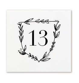 Page Stationery Table Numbers, 13-24