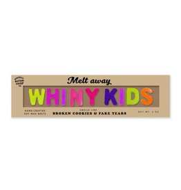 Whiskey River Soap Wax Melts: Whiny Kids