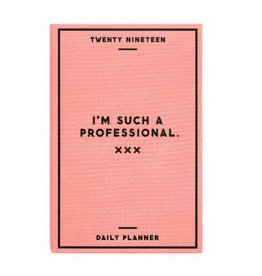 Easy Tiger 2019 Such a Professional Planner