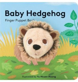 Hachette Book Group Baby Hedgehog Finger Puppet Book