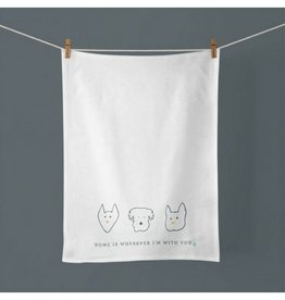 Doe A Deer Home Is Wherever Towel